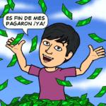 Pagos de agosto: $ 93.68 dólares vía PayPal