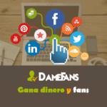 DameFans: Consigue fans y dinero gratis